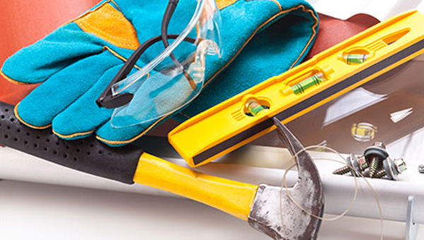 A selection of maintenance tools.