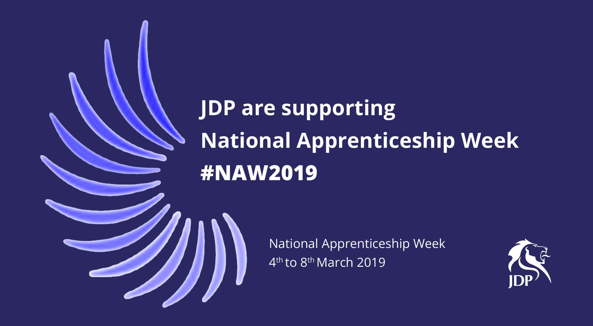 JDP supporting National Apprenticeship week