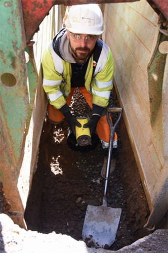 Installing drainage in  Norwich