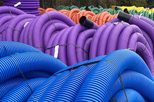 Coloured Ducting