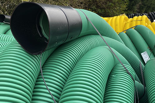 Sewer pipe.