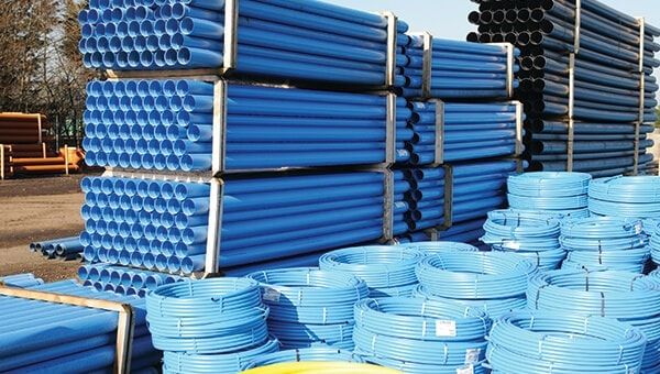 25mm Black HDPE Pipe Coil - PE100 Water Supply Pipe - JDP