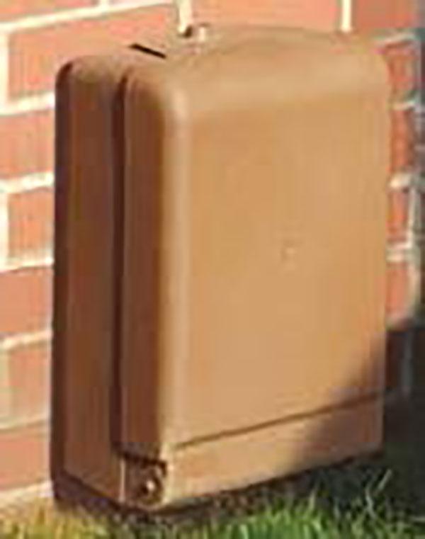Aboveground meter box