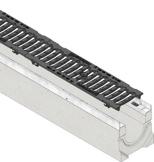 FASERFIX KS 100 channel with F900 grating