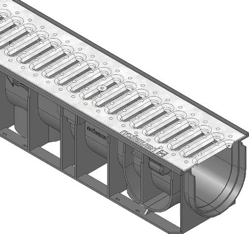 RECYFIX Standard 100 A15 channel drain