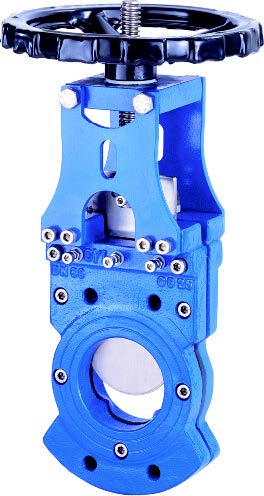 Knife gate valve.