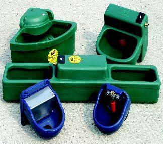 Plastic drinking bowls