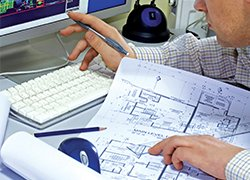 Technical support drawings