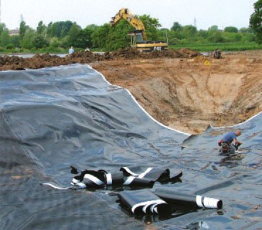 Sports geotextile