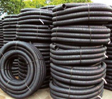 Land drain coils